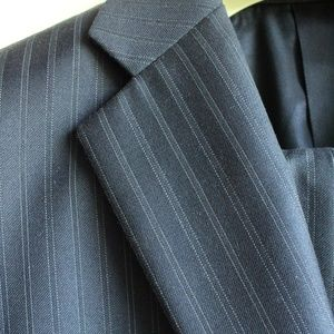 Burberry Mens Navy Suit